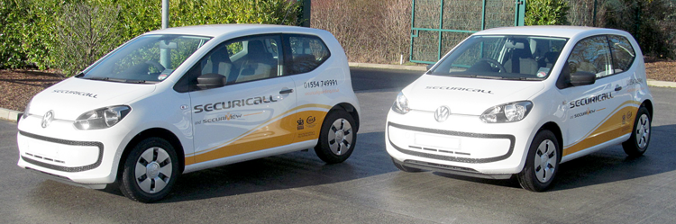 Securicall Response Vehicles